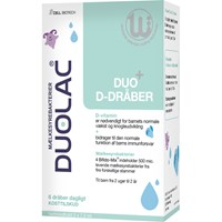 Duolac Duo D-dråber, 2 x 7,5 ml.